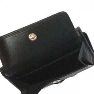 Jimmy Choo(ジミーチュー) 三つ折り財布(小銭入れ付) NEMO BLACK/METALLIC MIX f04