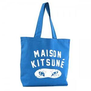 MAISON KITSUNE(メゾンキツネ) トートバッグ SS16U836-BL BLUE h01