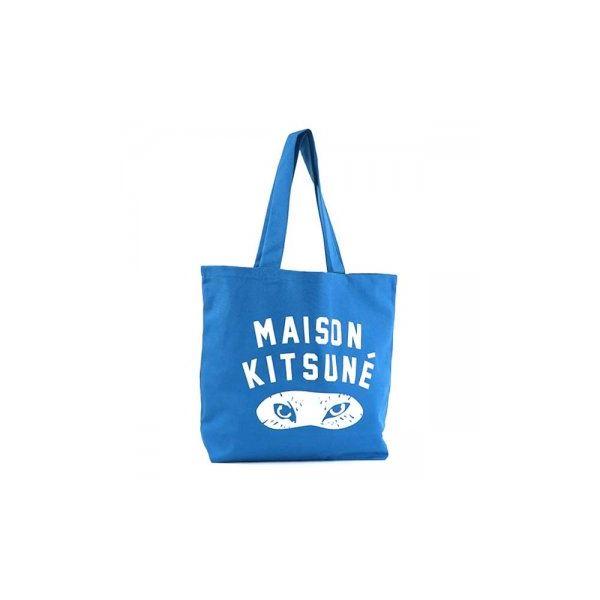 MAISON KITSUNE(メゾンキツネ) トートバッグ SS16U836-BL BLUEf00