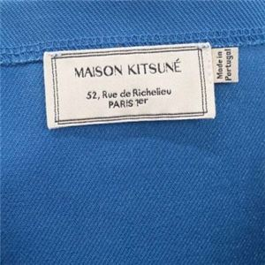 MAISON KITSUNE(メゾンキツネ) トートバッグ SS16U836-BL BLUE f04
