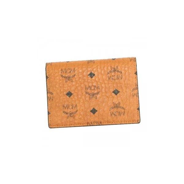 MCM(エムシーエム) カードケース MXA7SVI20 CO001 COGNACf00
