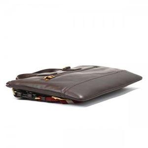 Bally(バリー) ブリーフケース BUSINESS BAG CHOCOLATE RED BALLY/BEIGE h02