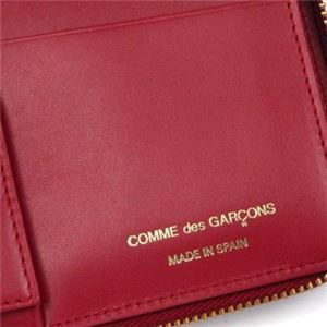 COMME des GARCONS(コムデギャルソン) 長財布 SA0110 RED f05