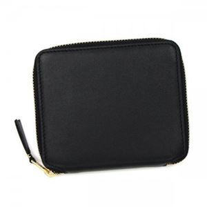 COMME des GARCONS(コムデギャルソン) 二つ折り財布(小銭入れ付) SA2100 BLACK h01