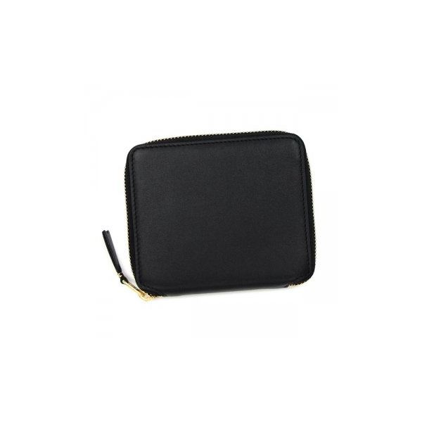 COMME des GARCONS(コムデギャルソン) 二つ折り財布(小銭入れ付) SA2100 BLACKf00