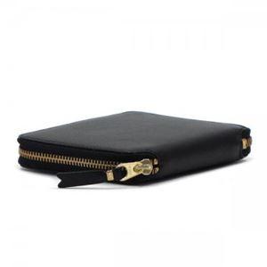 COMME des GARCONS(コムデギャルソン) 二つ折り財布(小銭入れ付) SA2100 BLACK h02