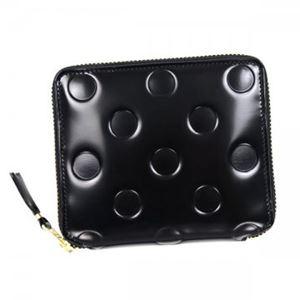 COMME des GARCONS(コムデギャルソン) 二つ折り財布(小銭入れ付) SA2100NE BLACK h01
