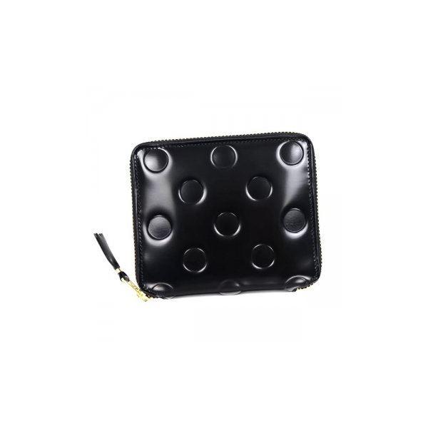 COMME des GARCONS(コムデギャルソン) 二つ折り財布(小銭入れ付) SA2100NE BLACKf00