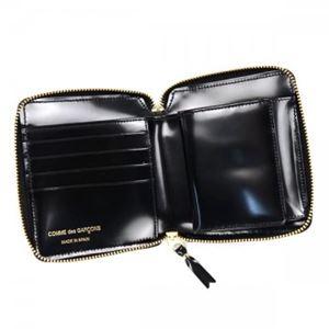 COMME des GARCONS(コムデギャルソン) 二つ折り財布(小銭入れ付) SA2100NE BLACK h03
