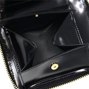 COMME des GARCONS(コムデギャルソン) 二つ折り財布(小銭入れ付) SA2100NE BLACK f04