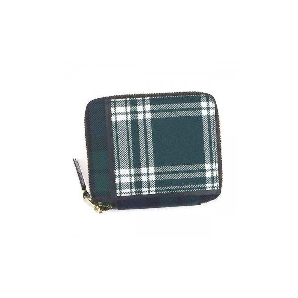 COMME des GARCONS(コムデギャルソン) 二つ折り財布(小銭入れ付) SA2100TP GREEN-2f00