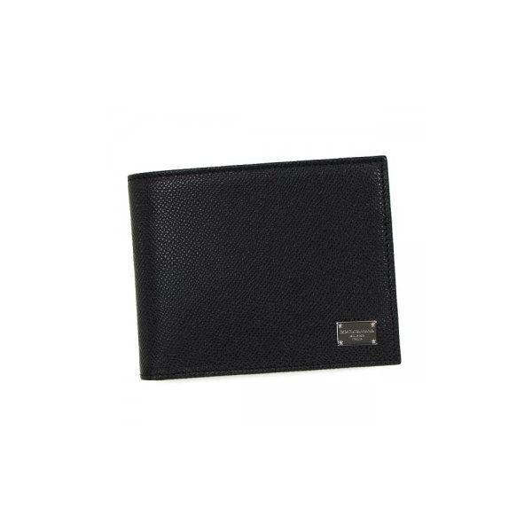 DOLCE&GABBANA(ドルチェアンドガッバーナ) 二つ折り財布(小銭入れ付) BP0457 80999 BLACKf00