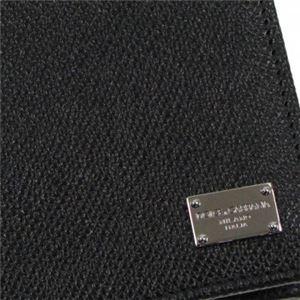 DOLCE&GABBANA(ドルチェアンドガッバーナ) 二つ折り財布(小銭入れ付) BP0457 80999 BLACK h03