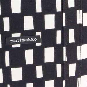 marimekko(マリメッコ) ハンドバッグ 44389 911 BLACK LILYWHITE f04