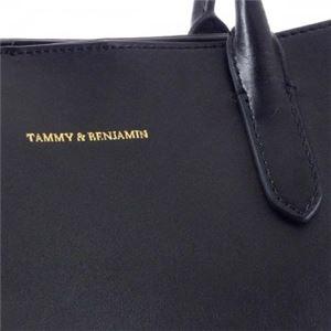 TAMMY&BENJAMIN (タミー&ベンジャミン) トートバッグ BLACK f04