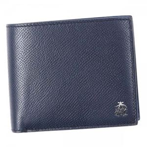Dunhill(ダンヒル) 二つ折り財布(小銭入れ付) L2AC32N NAVY h01