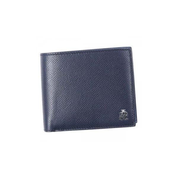 Dunhill(ダンヒル) 二つ折り財布(小銭入れ付) L2AC32N NAVYf00