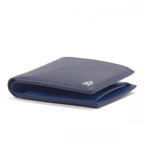 Dunhill(ダンヒル) 二つ折り財布(小銭入れ付) L2AC32N NAVY h02