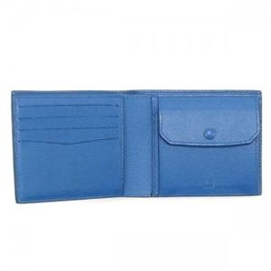 Dunhill(ダンヒル) 二つ折り財布(小銭入れ付) L2AC32N NAVY h03