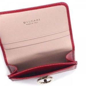 Bvlgari(ブルガリ) 名刺入れ 281430 RUBY RED f04