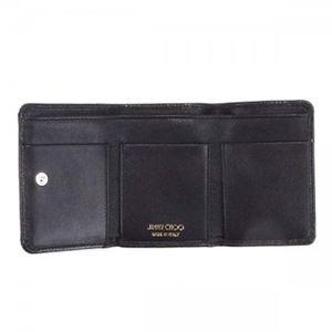 Jimmy Choo(ジミーチュー) 三つ折り財布(小銭入れ付) NEMO BLACK h03