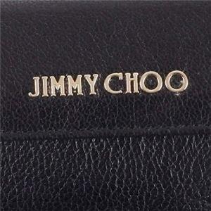 Jimmy Choo(ジミーチュー) 三つ折り財布(小銭入れ付) NEMO BLACK f05
