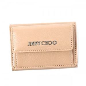 Jimmy Choo(ジミーチュー) 三つ折り財布(小銭入れ付) NEMO BALLET PINK h01