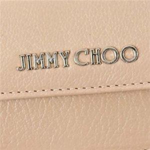 Jimmy Choo(ジミーチュー) 三つ折り財布(小銭入れ付) NEMO BALLET PINK f05