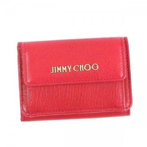 Jimmy Choo(ジミーチュー) 三つ折り財布(小銭入れ付) NEMO DAHLIA h01