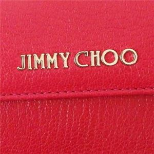 Jimmy Choo(ジミーチュー) 三つ折り財布(小銭入れ付) NEMO DAHLIA f05