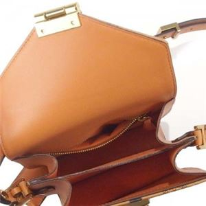 MCM(エムシーエム) ナナメガケバッグ MWS6SPA04 CO001 COGNAC h03