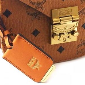 MCM(エムシーエム) ナナメガケバッグ MWS6SPA04 CO001 COGNAC f04