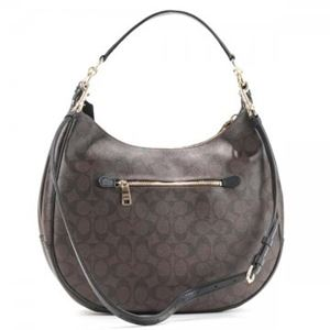 Coach Factory(コーチ F) ホーボー 38300 SIGNATURE COATED COTTON CANVAS h02