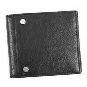 Balenciaga(バレンシアガ) 二つ折り財布(小銭入れ付) 286090 1000 BLACK h01