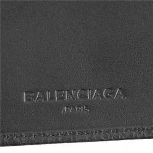 Balenciaga(バレンシアガ) 二つ折り財布(小銭入れ付) 286090 1000 BLACK f05