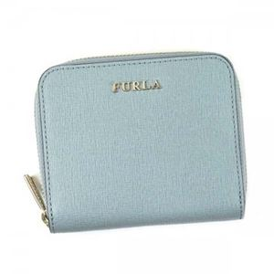 Furla(フルラ) 二つ折り財布(小銭入れ付)  PR84 AZZ AZZURRO