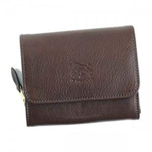 ILBISONTE(イルビゾンテ)二つ折り財布(小銭入れ付)C0883455DARKBROWN