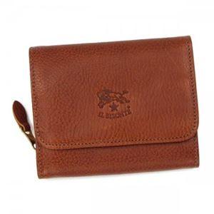 IL BISONTE(イル ビゾンテ) 二つ折り財布(小銭入れ付)  C0883 214 COGNAC - 拡大画像