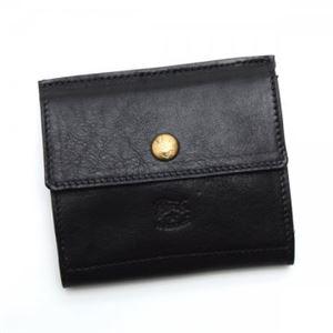 ILBISONTE(イルビゾンテ)Wホック財布C0910153NERO