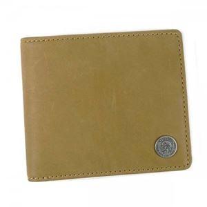 DIESEL(ディーゼル) 二つ折り財布(小銭入れ付)  X04373 T2282 DIJON - 拡大画像