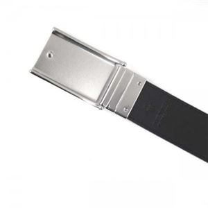 Burberry(バーバリー) ベルト 3996171 NAVY BLACK 長さ 110.5cmまで対応 幅3.5cm ベルト穴5