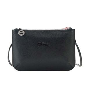 Longchamp(ロンシャン) ナナメガケバッグ 2072 A40 NOIR/POUDRE