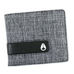 NIXON(ニクソン) 二つ折り財布(小銭入れ付) C943 736 BLACK WASH