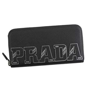 Prada(プラダ) ラウンド長財布 1ML506 F0632 NERO 1