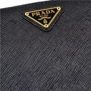 Prada(プラダ) ラウンド長財布 1ML506 F0002 NERO