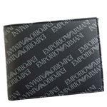 EMPORIO ARMANI(エンポリオアルマーニ) 2つ折小銭付き財布 Y4R165 86526 BOARD/BLACK