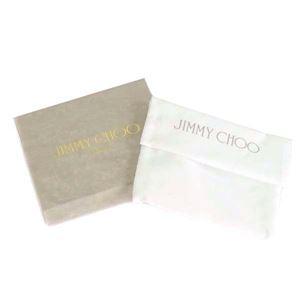 Jimmy Choo(ジミーチュウ) カードケース NELLO BLACK/METALLIC MIX