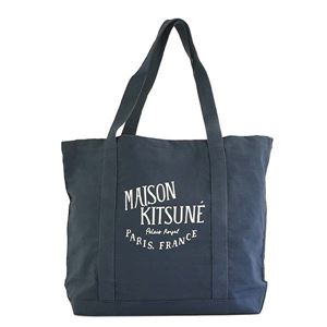 MAISONKITSUNE(メゾンキツネ)トートバッグAU05106AT1010-BLBLUE