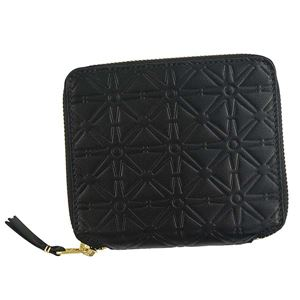 COMME des GARCONS(コムデギャルソン) 2つ折小銭付き財布 SA210E BLACK