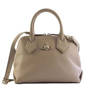 Vivienne Westwood(ヴィヴィアンウエストウッド) ハンドバッグ 42010026 J401 TAUPE